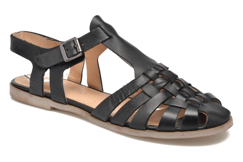 Sandales et nu-pieds Jonak Macara Noir vue détail/paire