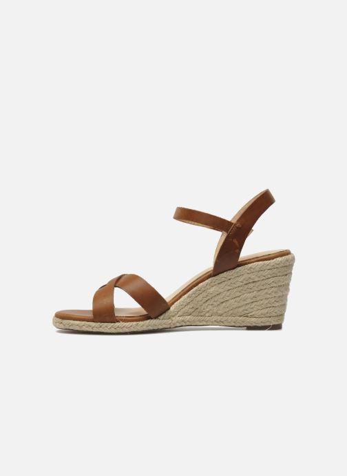 Sandales et nu-pieds Jonak Tunia Marron vue face