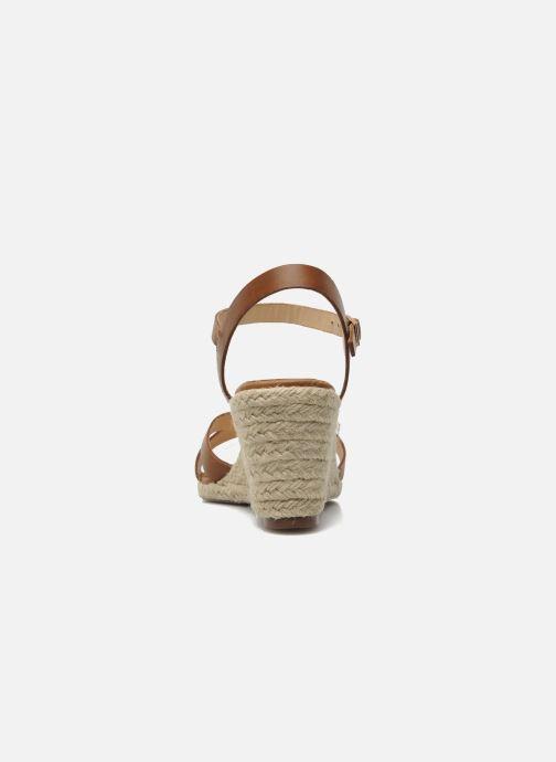 Sandales et nu-pieds Jonak Tunia Marron vue droite