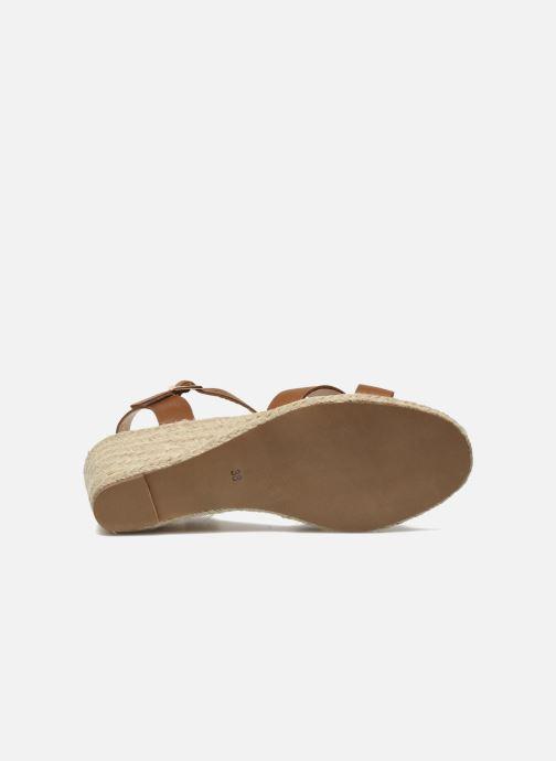 Sandales et nu-pieds Jonak Tunia Marron vue haut