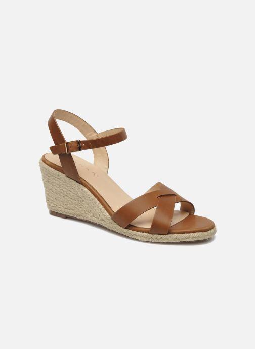 Sandales et nu-pieds Jonak Tunia Marron vue détail/paire