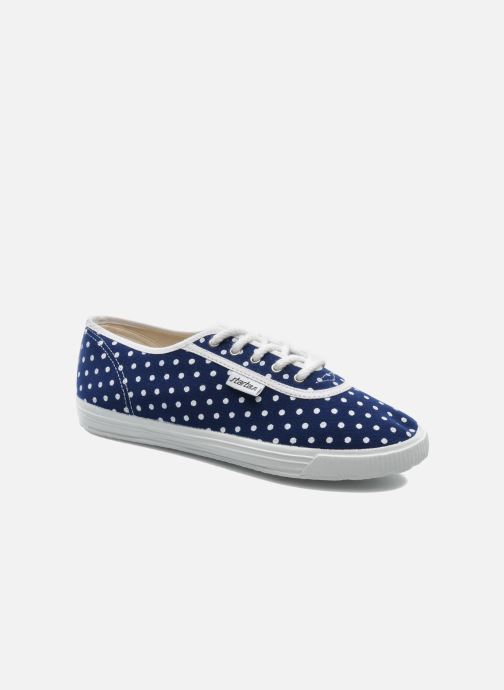 Trainers Startas Polka Dots Blue 3/4 view