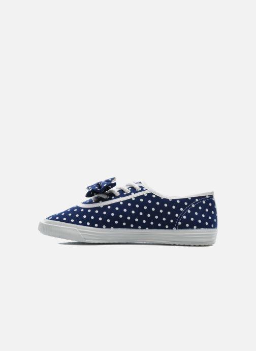 Sneaker Startas Polka Dots blau ansicht von vorne