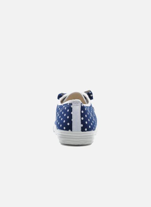 Sneaker Startas Polka Dots blau ansicht von rechts