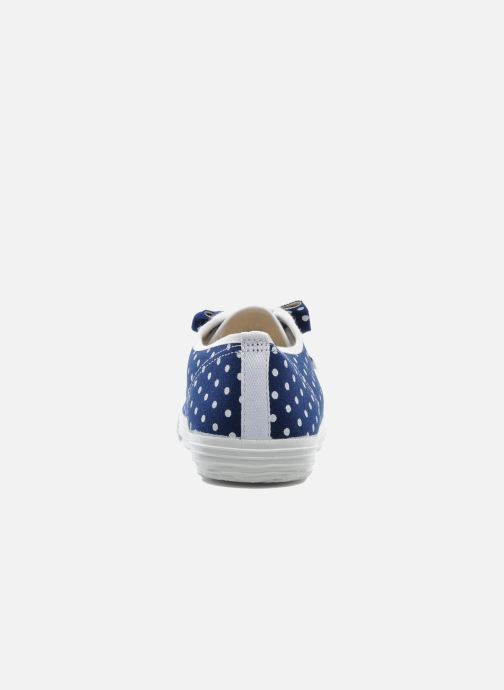 Trainers Startas Polka Dots Blue view from the right
