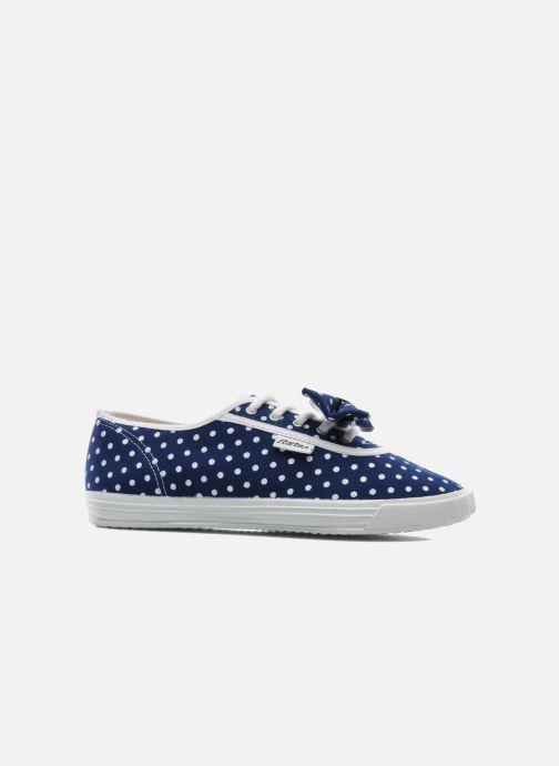 Sneaker Startas Polka Dots blau ansicht von hinten