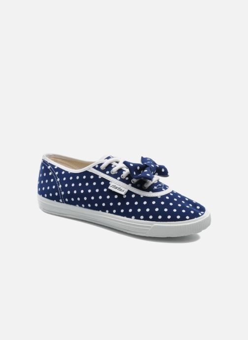Sneaker Startas Polka Dots blau detaillierte ansicht/modell