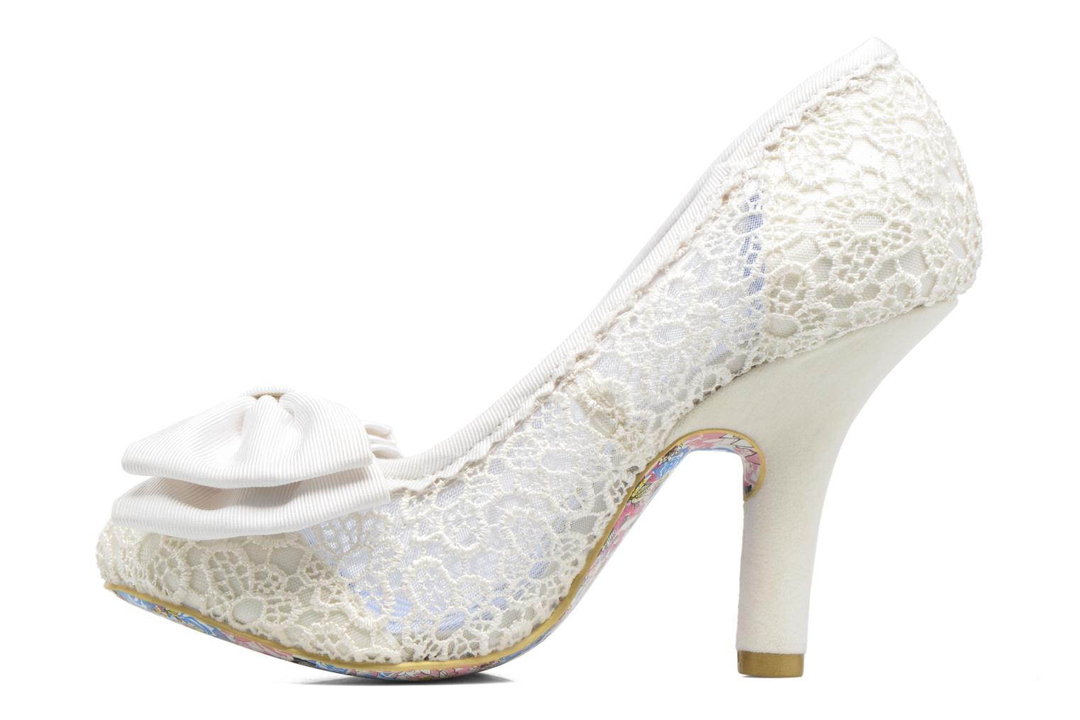 Pumps Irregular choice Mal E Bow Beige voorkant