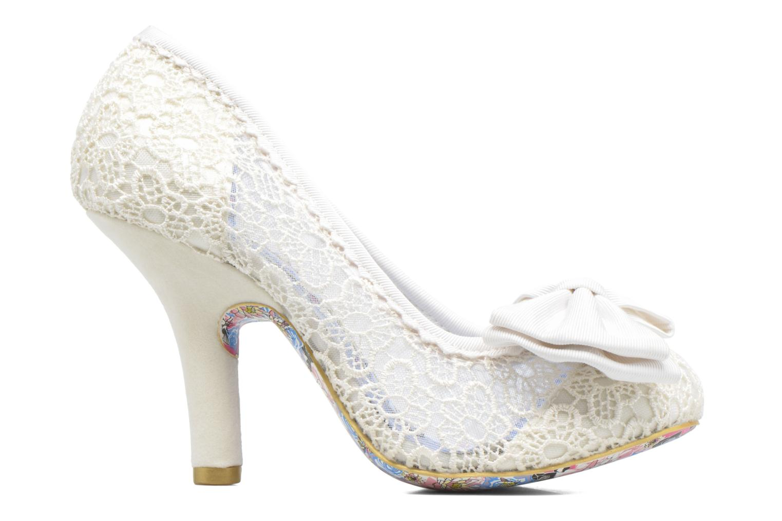 Pumps Irregular choice Mal E Bow Beige achterkant