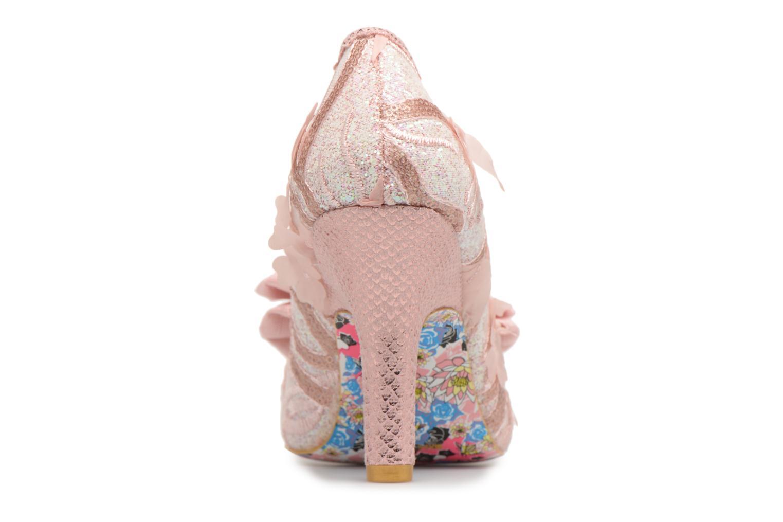 Zapatos de tacón Irregular choice Mal E Bow Rosa vista lateral derecha