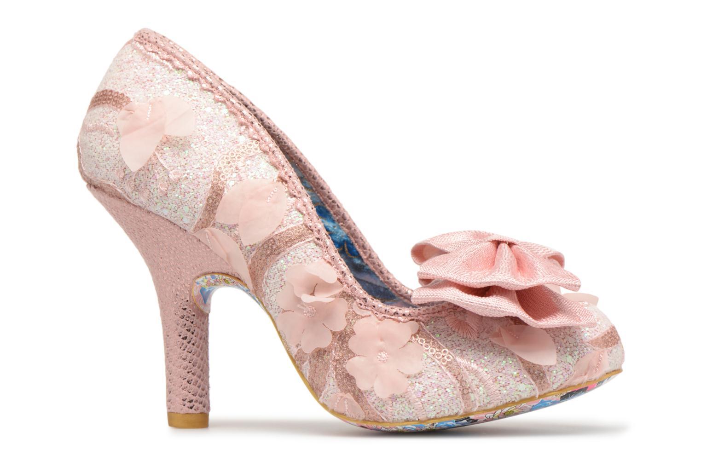 Zapatos de tacón Irregular choice Mal E Bow Rosa vistra trasera
