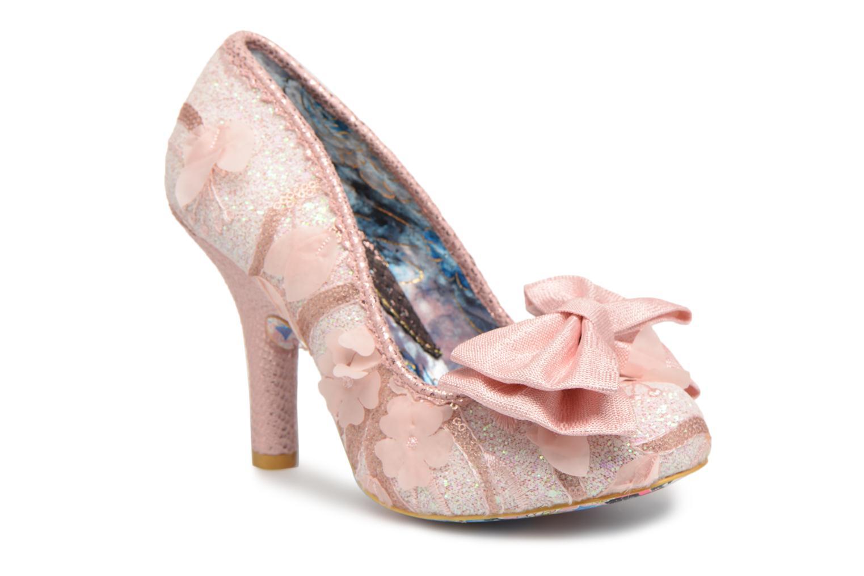 Zapatos de tacón Irregular choice Mal E Bow Rosa vista de detalle / par