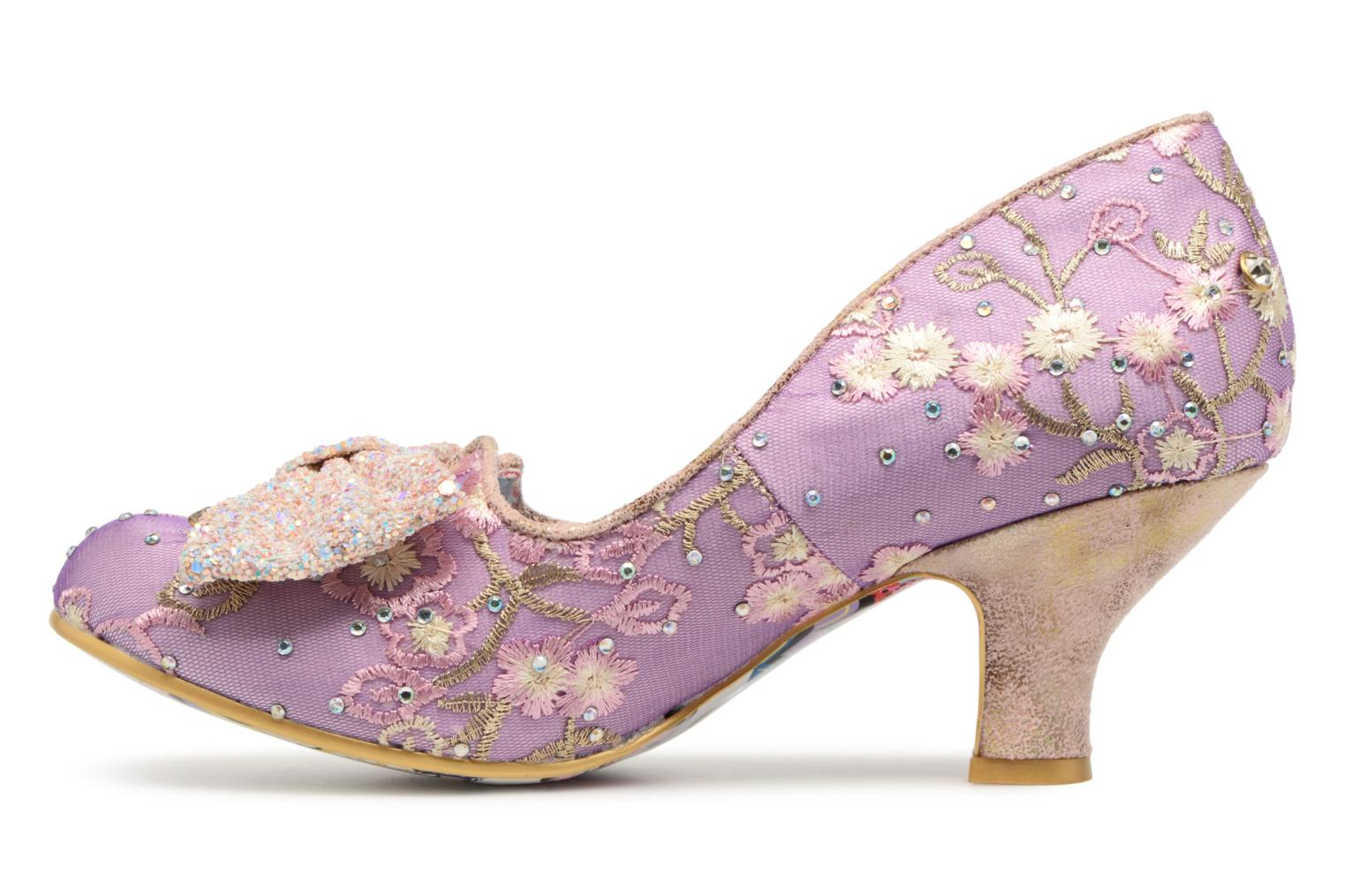 Escarpins Irregular Choice Dazzle Razzle Violet vue face