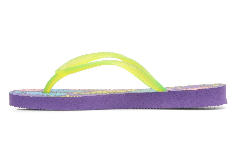 Tongs Havaianas Kids Slim Fashion Multicolore vue portées chaussures
