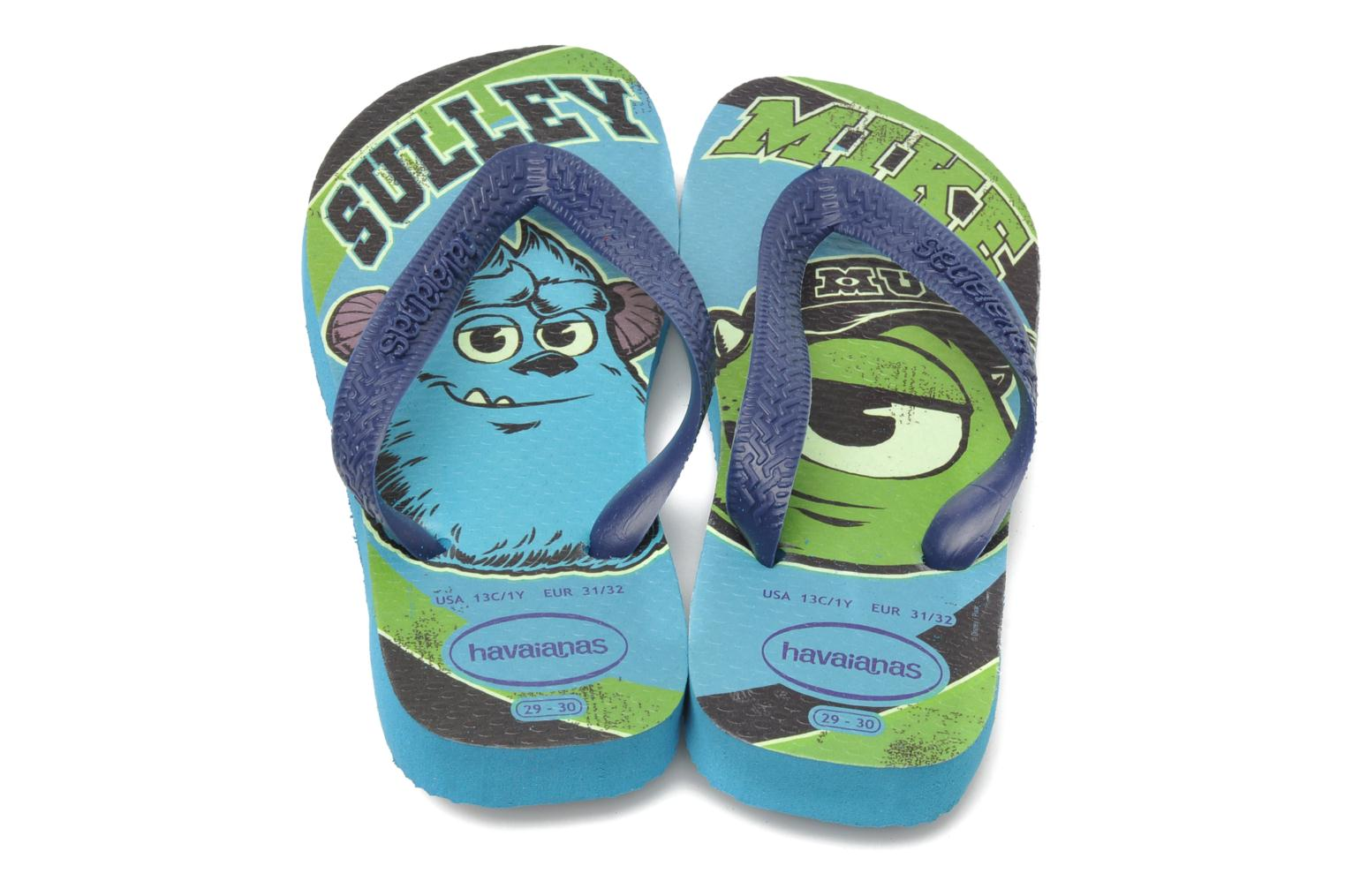 Slippers Havaianas Kids Monster Blauw 3/4'