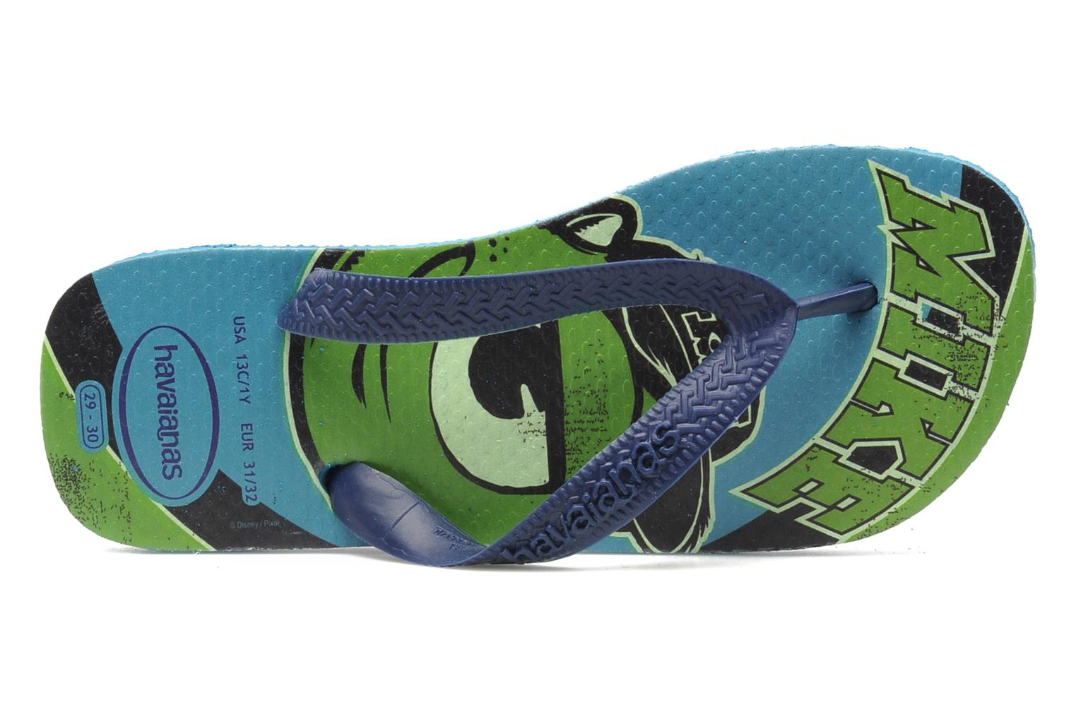 Slippers Havaianas Kids Monster Blauw links