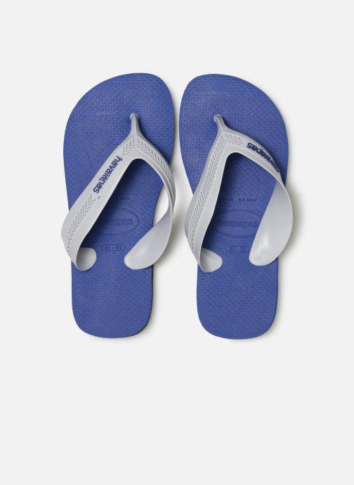 Zehensandalen Havaianas Kids Max blau schuhe getragen