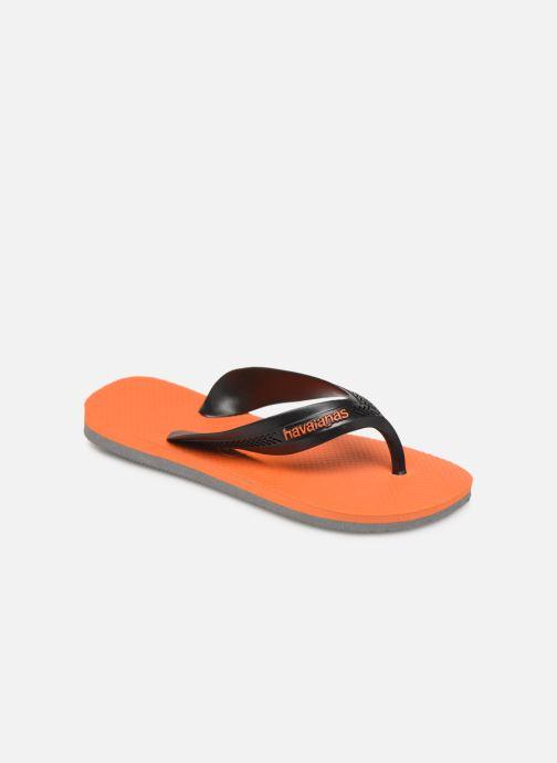 Tongs Havaianas Kids Max Orange vue détail/paire