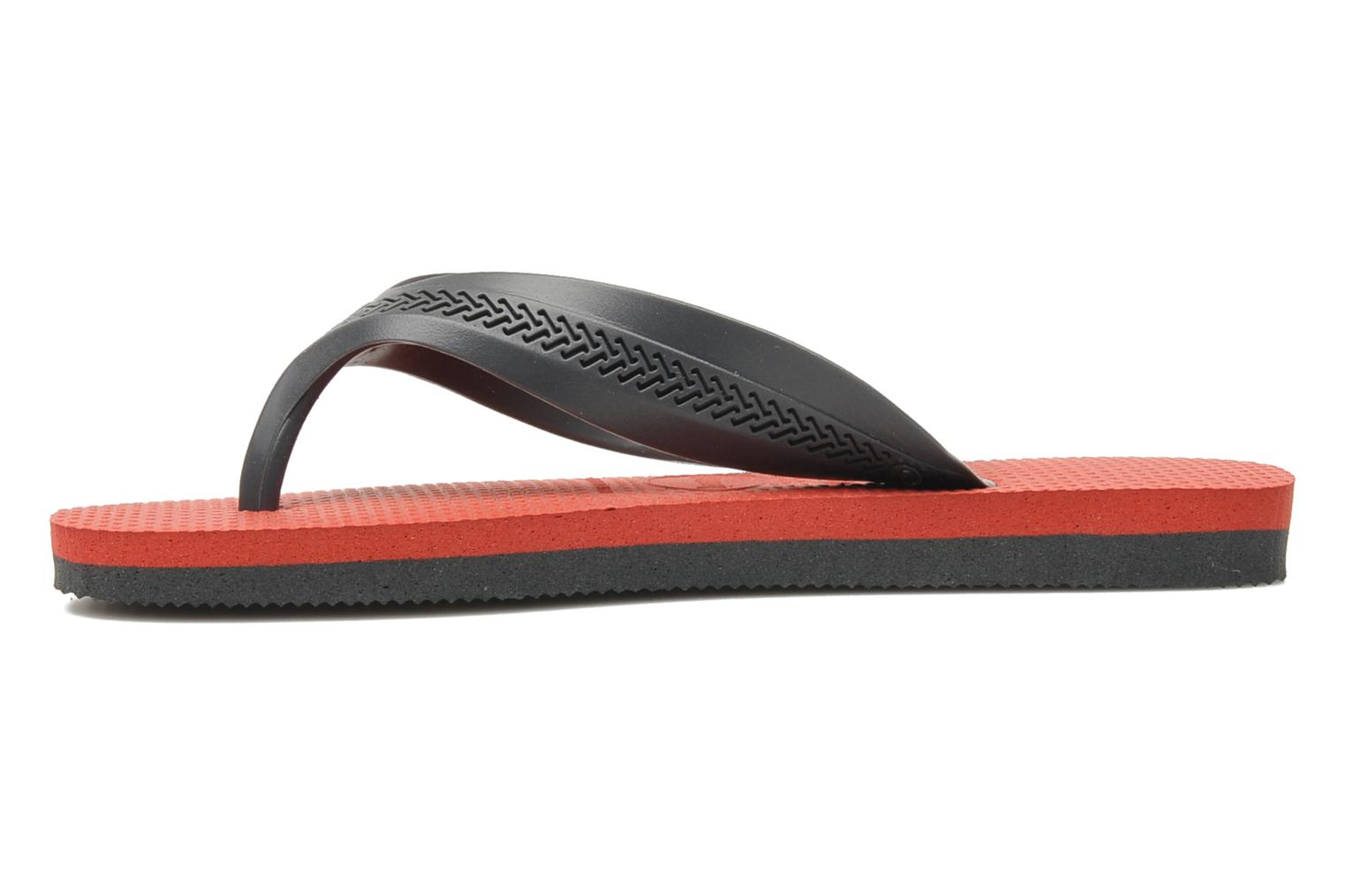 Tongs Havaianas Kids Max Gris vue face