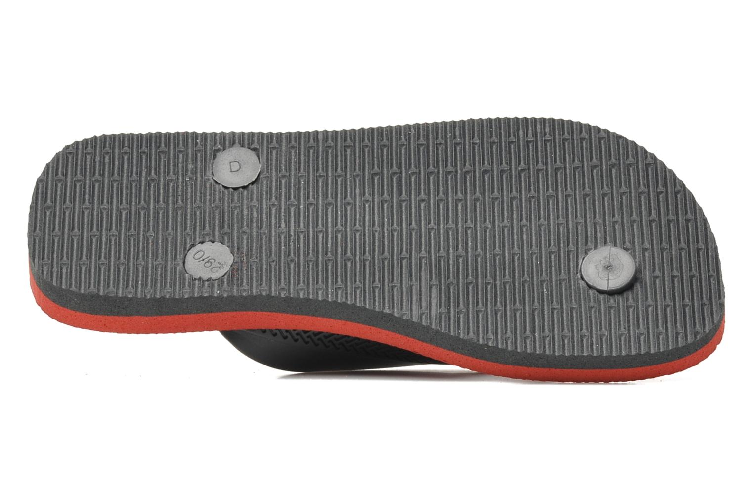 Flip flops Havaianas Kids Max Grey view from above