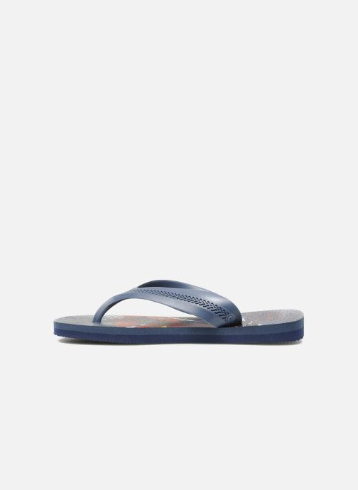 Slippers Havaianas Kids Max Cars Blauw voorkant