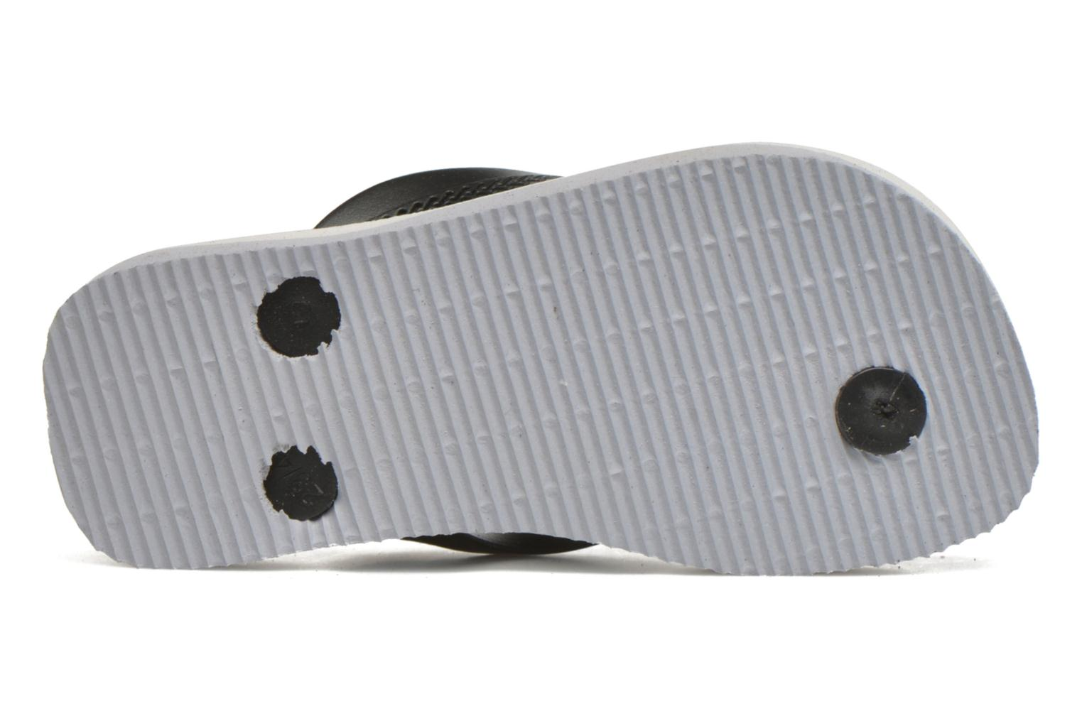 Flip flops Havaianas Kids Max Cars Grey view from above