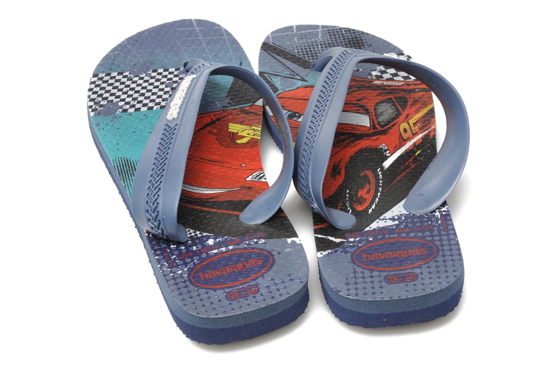 Flip flops & klipklapper Havaianas Kids Max Cars Blå 3/4 billede