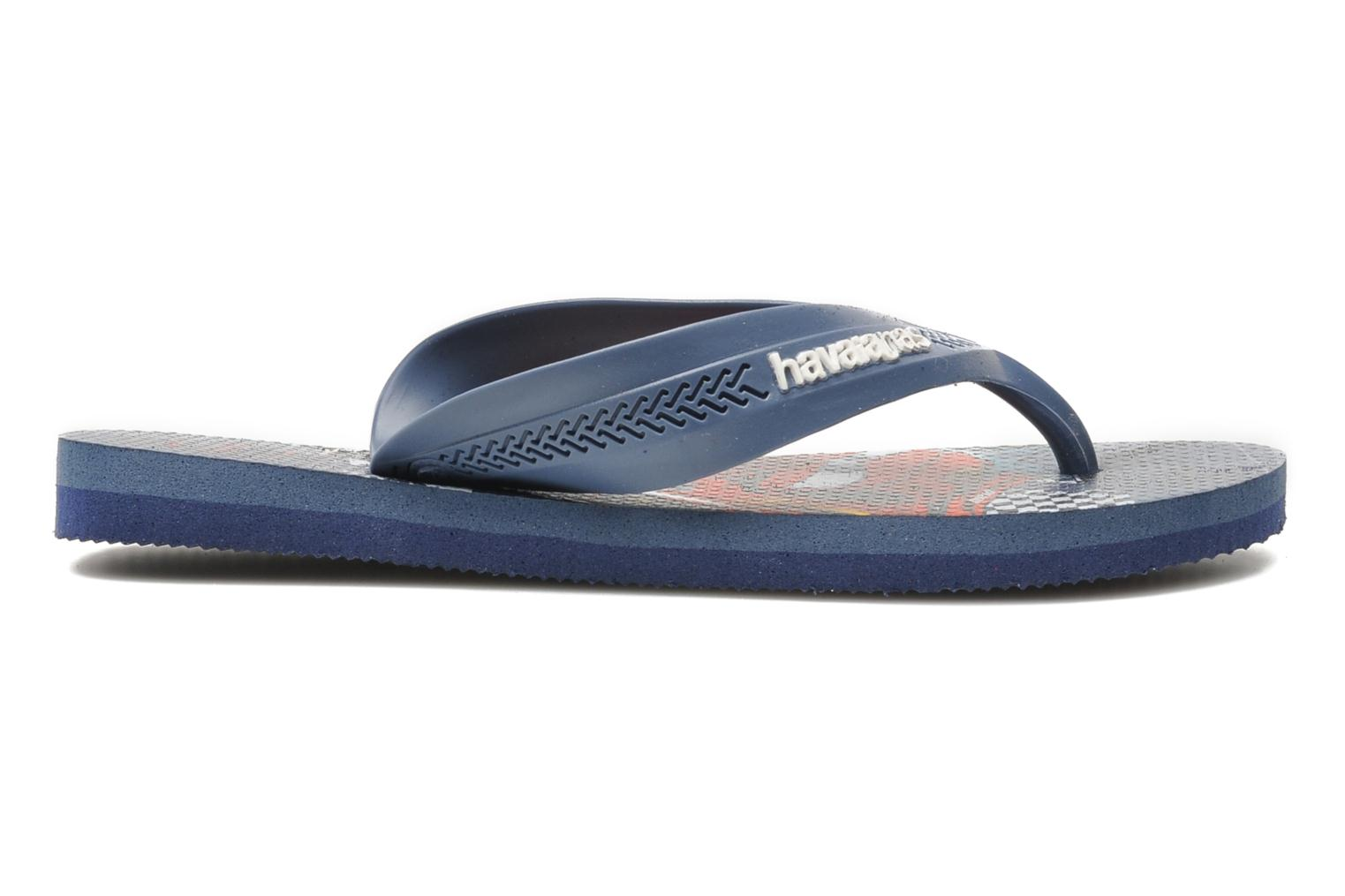 Slippers Havaianas Kids Max Cars Blauw achterkant