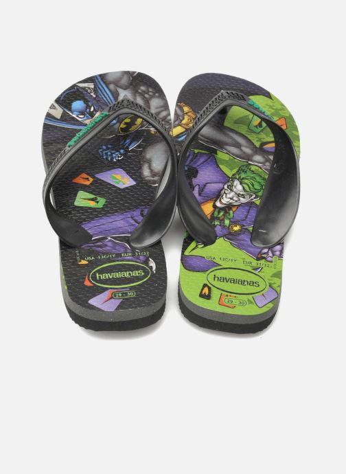 Slippers Havaianas Kids Max Heroes Zwart 3/4'
