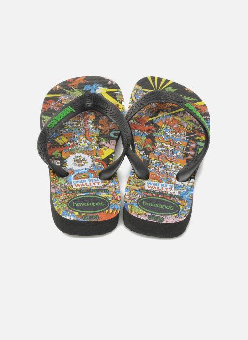 Slippers Havaianas Ou Est Charlie Zwart 3/4'