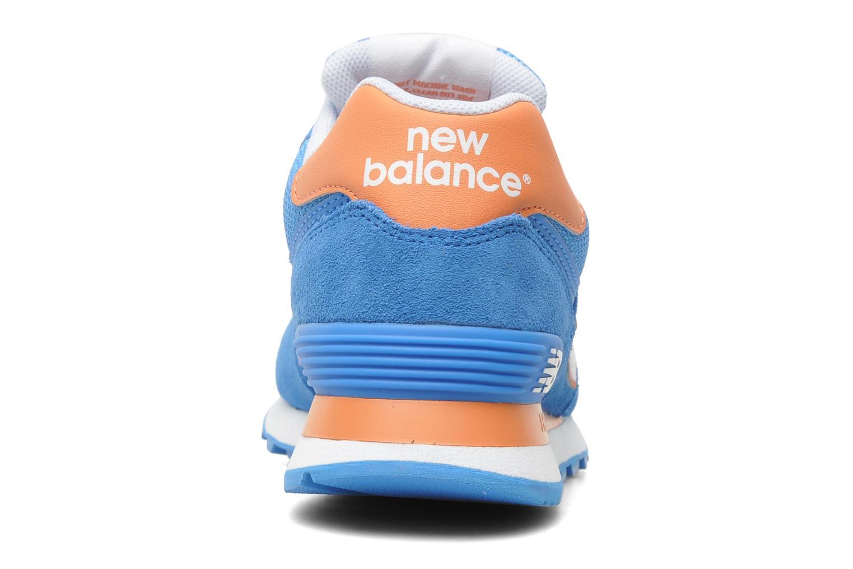 Sneakers New Balance WL574CPT-B Azzurro immagine destra