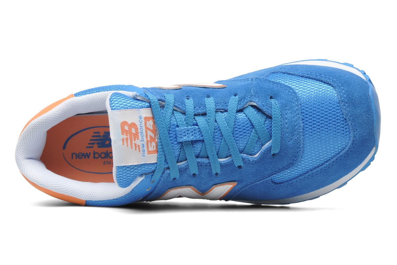 Sneakers New Balance WL574CPT-B Azzurro immagine sinistra