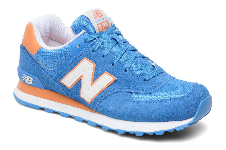 Sneakers New Balance WL574CPT-B Azzurro vedi dettaglio/paio