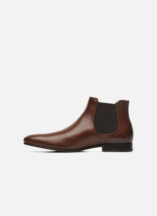 Boots en enkellaarsjes Azzaro Item Bruin voorkant