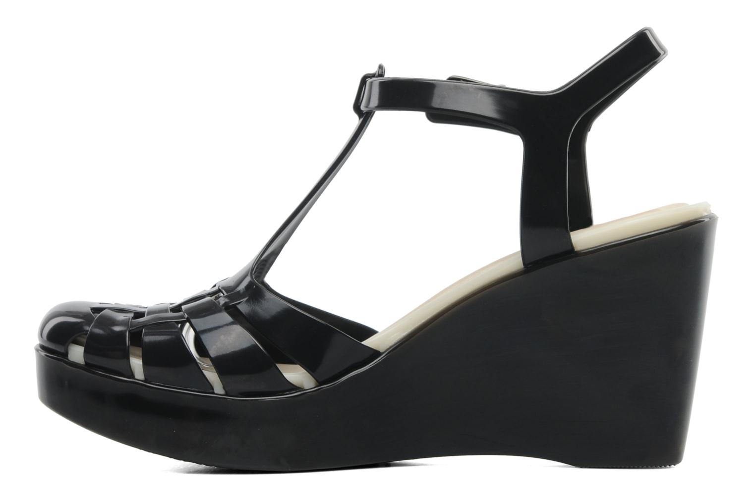 Sandals Lemon Jelly Samba Black front view