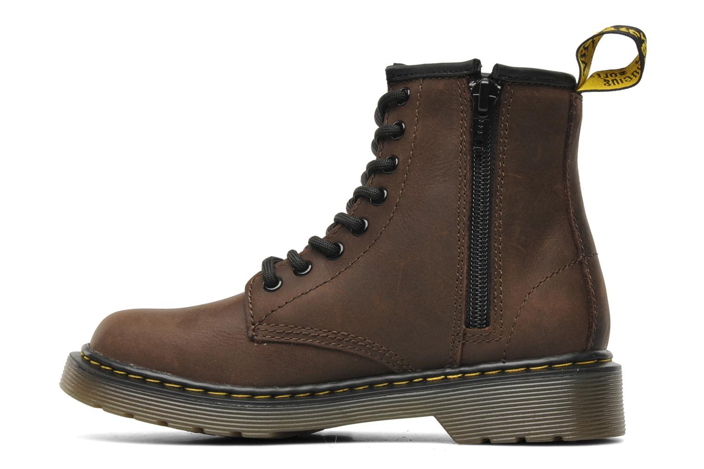 Bottines et boots Dr. Martens Delaney Junior Marron vue face
