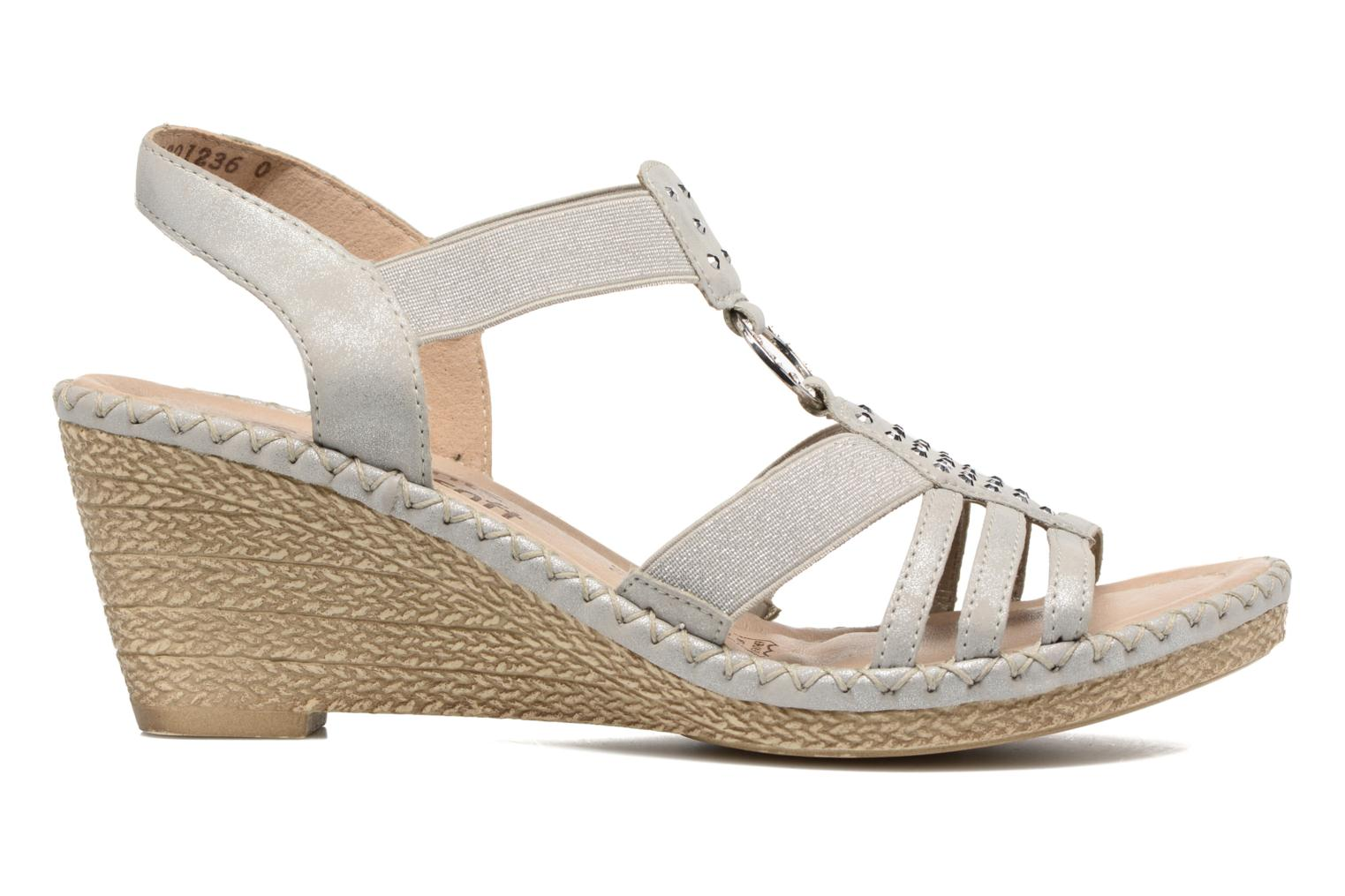 Sandals Remonte Arasi D6768 White back view