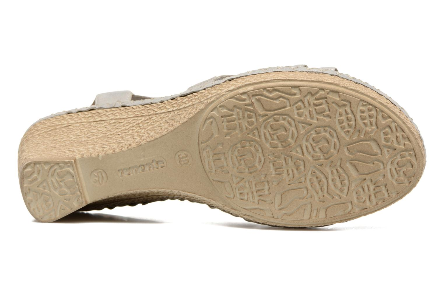 Sandals Remonte Arasi D6768 White view from above