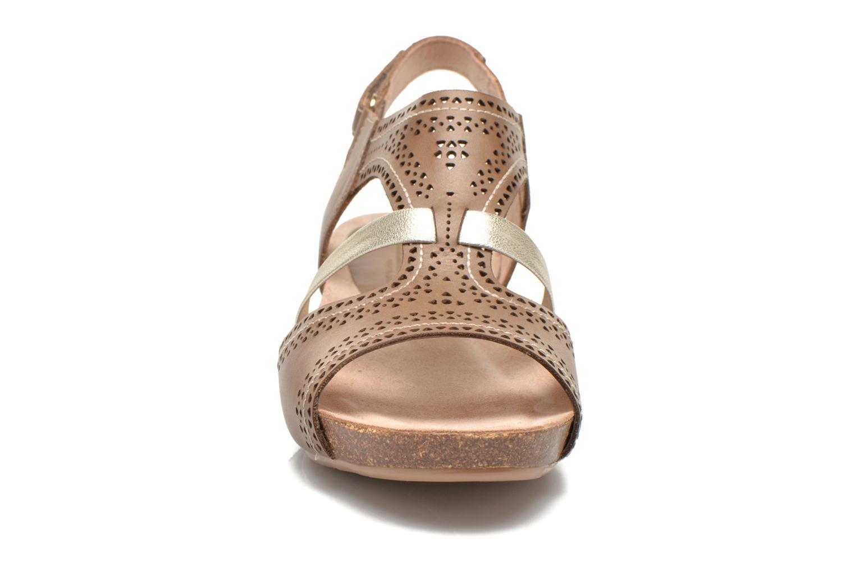 Sandales et nu-pieds Pikolinos RENNES 931-7471A Vert vue portées chaussures