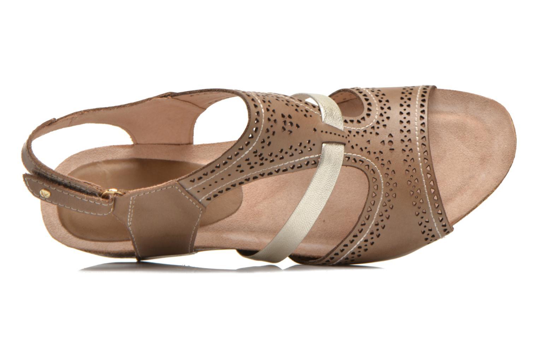 Sandales et nu-pieds Pikolinos RENNES 931-7471A Vert vue gauche