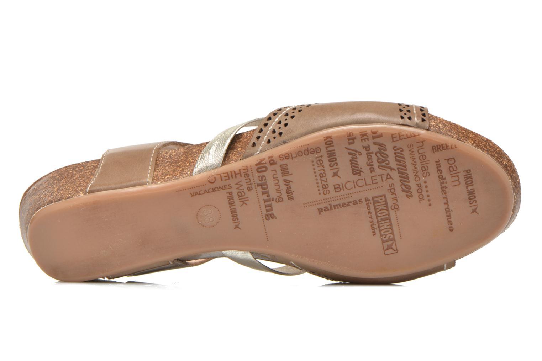 Sandales et nu-pieds Pikolinos RENNES 931-7471A Vert vue haut