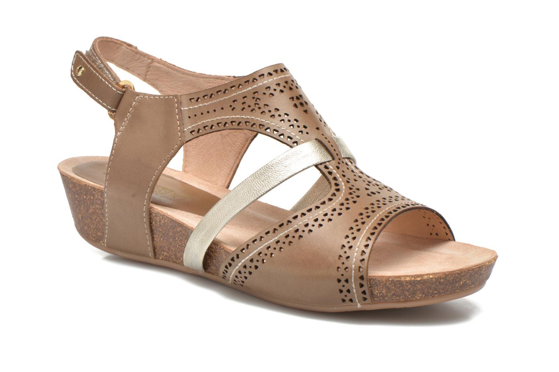 Sandales et nu-pieds Pikolinos RENNES 931-7471A Vert vue détail/paire