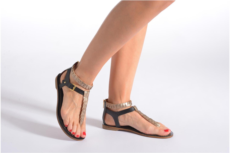Sandales et nu-pieds Pikolinos SAN ANTONIO 941-7592A Noir vue bas / vue portée sac