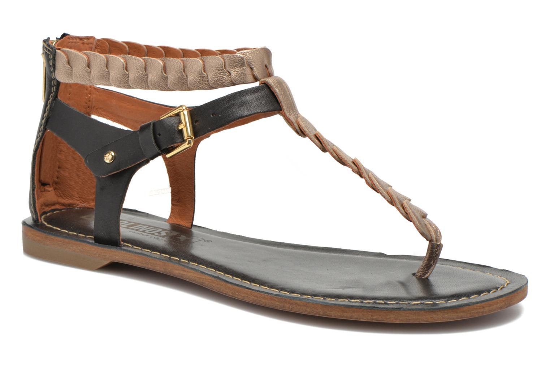 Sandales et nu-pieds Pikolinos SAN ANTONIO 941-7592A Noir vue détail/paire