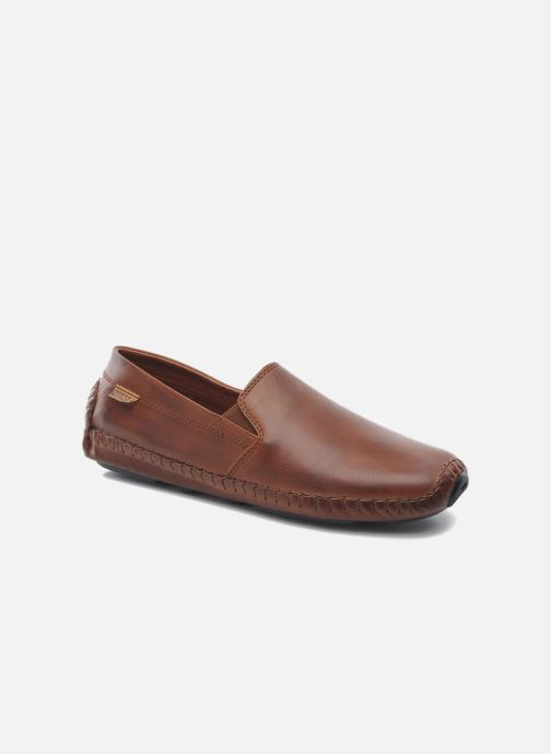 Loafers Pikolinos Jerez 09Z-5511 Brown detailed view/ Pair view