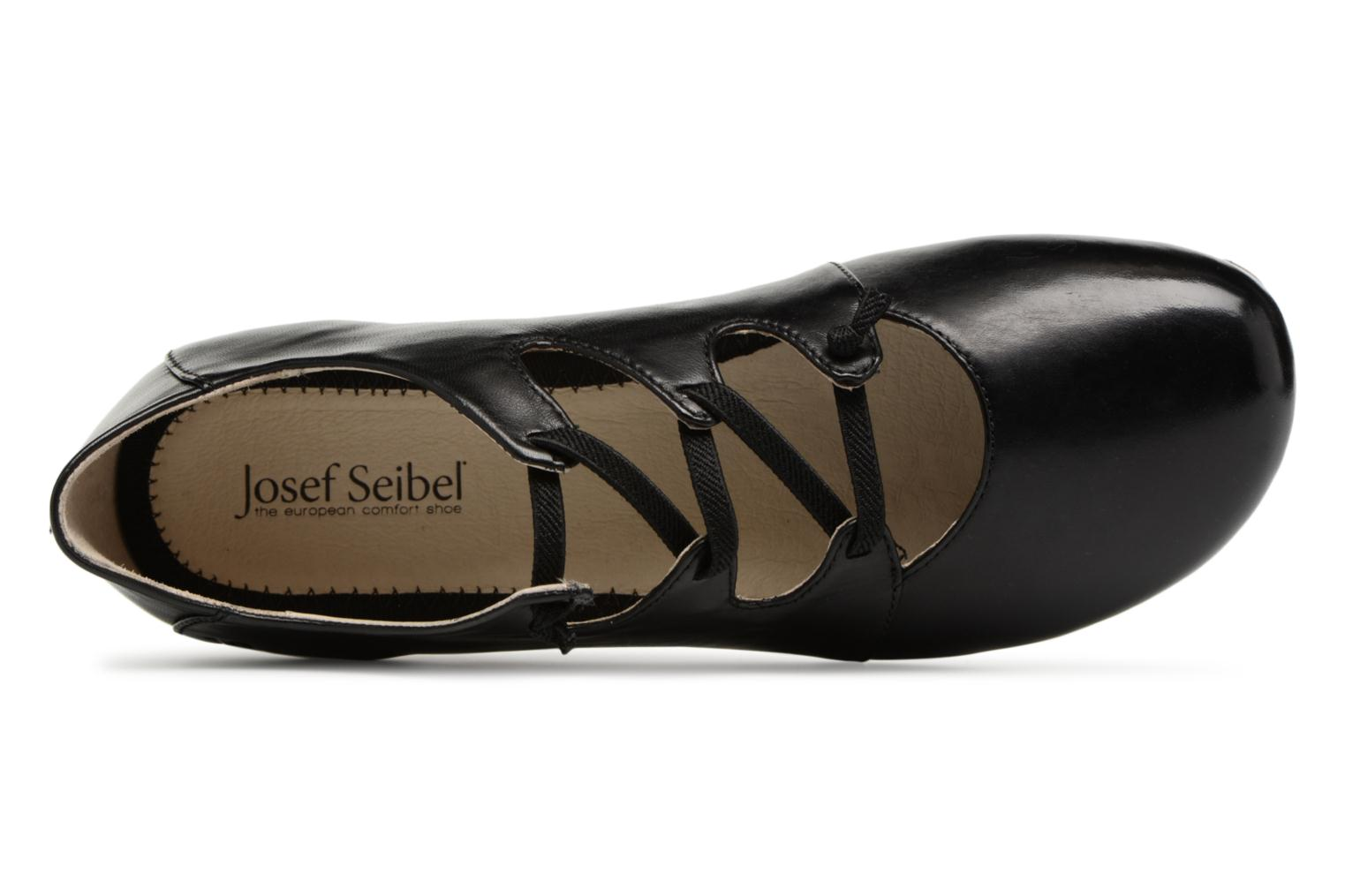 Ballet pumps Josef Seibel Fiona 04 Black view from the left