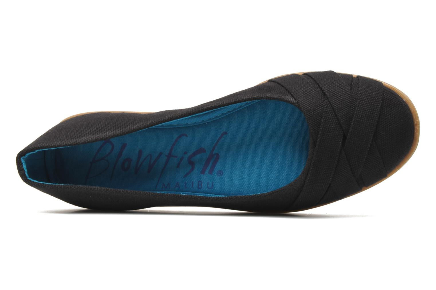 Ballet pumps Blowfish Glo Black view from the left