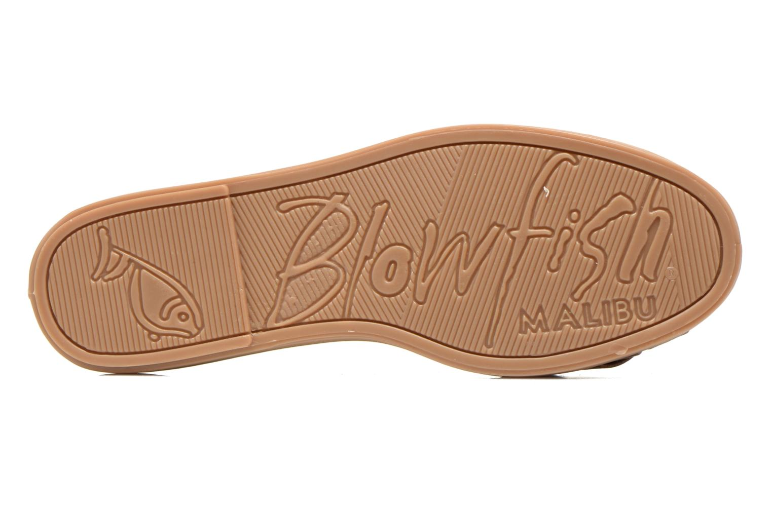 Ballerines Blowfish Glo Marron vue haut