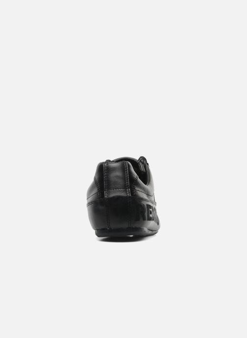 Sneaker Redskins Toniko schwarz ansicht von rechts