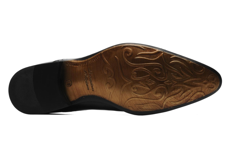 Chaussures à lacets Redskins Gosseti Noir vue haut